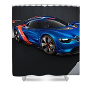 2012 Renault Alpine A110 50  Shower Curtain