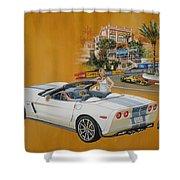 2013 Chevrolet Corvette Shower Curtain