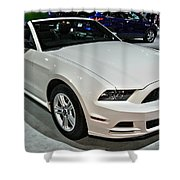 2013 Ford Mustang No 1 Shower Curtain
