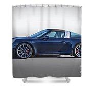 2014 Porsche 911 Targa 4s 'studio' Shower Curtain