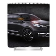2013 Ssangyong Siv 1 Concept Shower Curtain