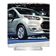 2014 Ford Transit Connect Wagon Shower Curtain
