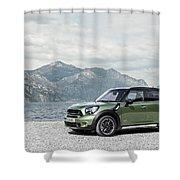 2014 Mini Countryman 2 Shower Curtain