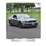 2014 Mustang Kindel Shower Curtain