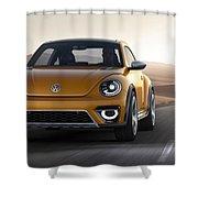 2014 Volkswagen Beetle Dune Concept Shower Curtain