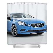 2014 Volvo S60 Polestar Shower Curtain