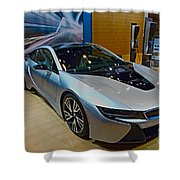 2015 Bmw I8 Hybrid Shower Curtain