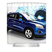 2015 Chevrolet Trax Number 1 Shower Curtain