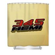2015 Dodge Challenger Shower Curtain