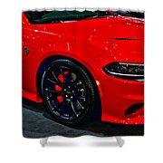 2015 Dodge Charger Srt Hellcat Shower Curtain