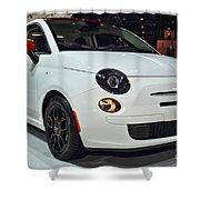 2015 Fiat 500 Ribelle Shower Curtain