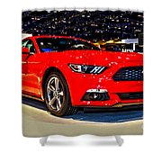 2015 Ford Mustang Coupe I4 Premium Shower Curtain