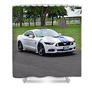 2015 Ford Mustang Gt James Tami Shower Curtain