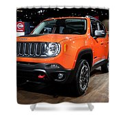 2015 Jeep Renegade Trailhawk Number 3 Shower Curtain