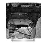 2015 Lancia Flavia Shower Curtain
