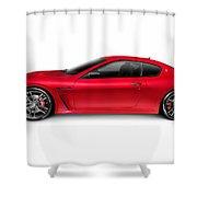 2015 Maserati Granturismo Mc Centennial Edition Luxury Car Side  Shower Curtain