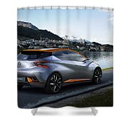 2015 Nissan Sway Concept 3  1 Shower Curtain