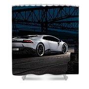 2015 Novitec Torado Lamborghini Huracan 3  1 Shower Curtain