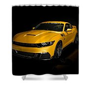 2015 Saleen Mustang S302 Black Label  Shower Curtain