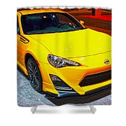 2015 Scion Fr-s Number 2 Shower Curtain