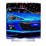 2015 Subaru Brz Shower Curtain