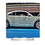 2015 Volkswagen Beetle Shower Curtain