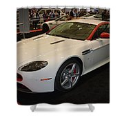 2016 Aston Martin Vantage Gt Coupe Shower Curtain