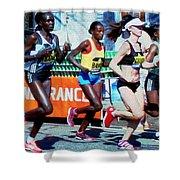 2016 Boston Marathon Winner 2 Shower Curtain