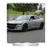 2016 Charger Rt Rice Shower Curtain