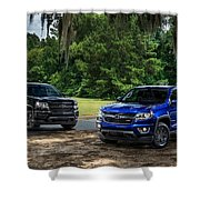 2016 Chevrolet Colorado Midnight Edition Trail Boss Shower Curtain