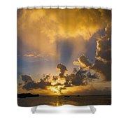2016 First Sunrise 2 Shower Curtain