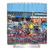 2016 Florida State Fair Shower Curtain
