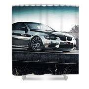 2016 Fostla De Bmw M3 Coupe 2 Shower Curtain