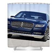 2016 Lincoln Continental Concept Shower Curtain