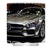 2016 Mercedes-amg Gts Shower Curtain