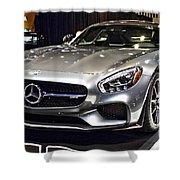 2016 Mercedes-amg Gts No 1 Shower Curtain