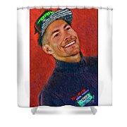 2016 Nicky Hayden Shower Curtain