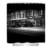 2016 Tampa Street Cars Shower Curtain