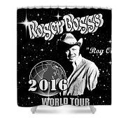2016 World Tour Shower Curtain