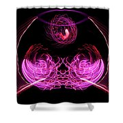 201606040-039b Bowl Of Fireworks 4x5 Shower Curtain
