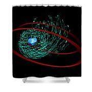 201606040-041a Incoming 3x4 Shower Curtain