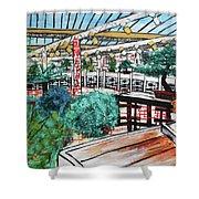 201804 Bonsai And Penjing Museum Washington Shower Curtain