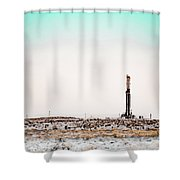 2018_04_orla Tx_cactus 153 2 Shower Curtain