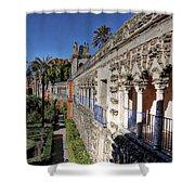 Alcazar Seville Sevilla Andalucia Spain Shower Curtain