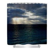 At Landscape Shower Curtain