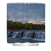 Grand Falls Waterfall Shower Curtain