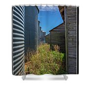 Back Alley On The Prairies Shower Curtain