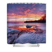 Lake Winnipesaukee Shower Curtain