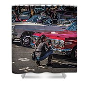 Sf Low Riders Shower Curtain