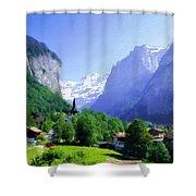 Show Landscape Shower Curtain
